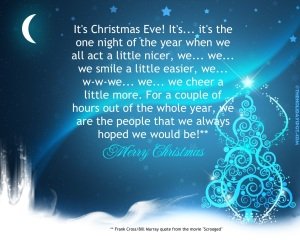 Christmas Eve Frank Cross Scrooged Quote - click for larger, more readable size